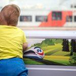 Место для ребенка в вагоне № 10