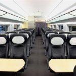 Интерьер салона вагона бизнес-класса
