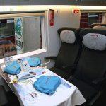 Обслуживание в вагоне бизнес-класса