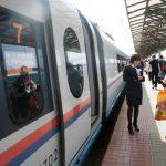 Посадка пассажиров в вагон № 7