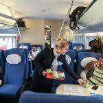 Обслуживание в вагоне эконом-класса