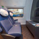 Кресла в вагоне эконом-класса