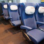 Пассажирские места в вагоне эконом-класса
