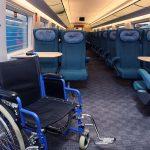 Места для проезда инвалидов в вагоне эконом-класса